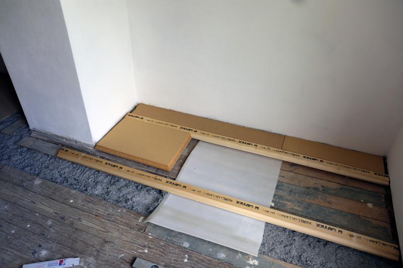 Fußboden Unterkonstruktion ~ Fußbodensanierung im altbau unterkonstruktion für dielenboden