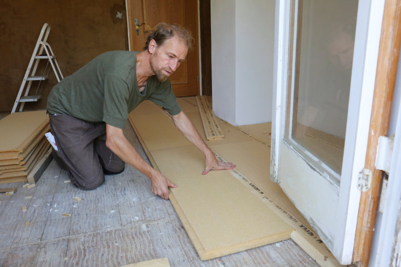 Fußboden Höher Legen ~ Fußbodensanierung im altbau unterkonstruktion für dielenboden