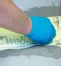 Einbau elastisches Dichtband-System Foto: Saint-Gobain Weber