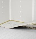 Trockenestrichplatten haben eine Stufenfalz oder werden über Nut und Feder miteinander verbunden. Foto: fermacell