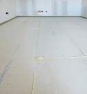 Die Trockenestrichplatten sind fertig verlegt. Foto: fermacell