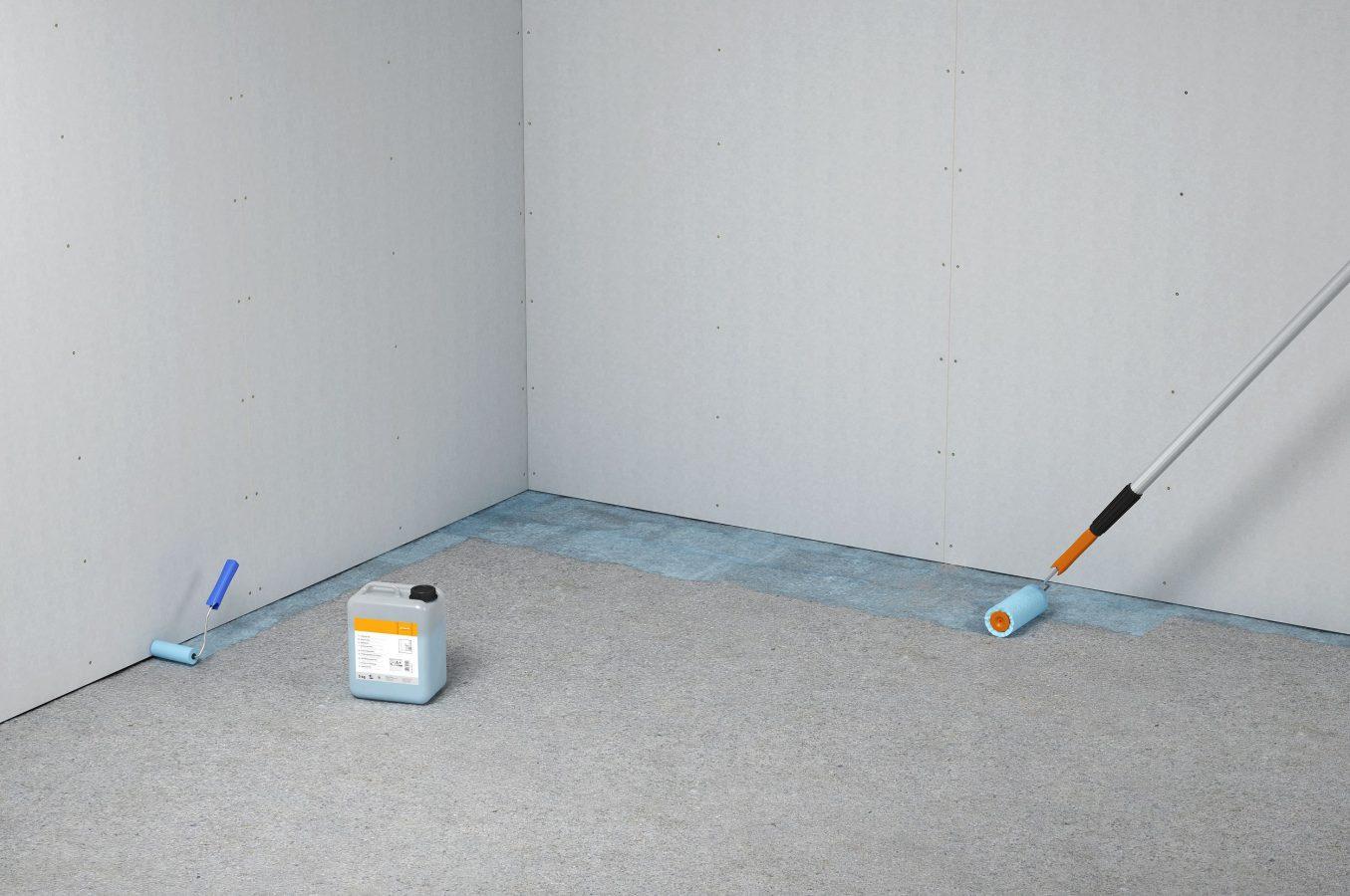 wie bereite ich den untergrund für trockenestrich vor?