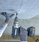 Wärmedämmplatten mit je zwei Metalldübeln befestigen Foto: Deutsche Rockwool Mineralwoll GmbH & Co. OHG