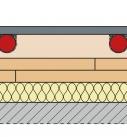 Die Trockenestrichelemente liegen unter dem Klimaboden. Grafik: Fermacell GmbH