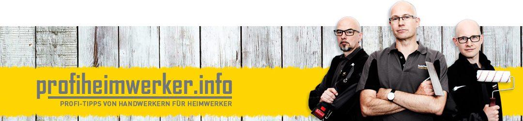 Das Portal für Heimwerker - profiheimwerker.info