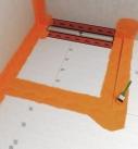 Übergänge abkleben und Dichtbänder einkleben. Foto: Fermacell GmbH