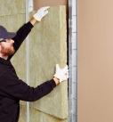 Formstabile Steinwolle-Leichtbauplatten für den Schallschutz in leichten Trennwänden. Foto: DEUTSCHE ROCKWOOL