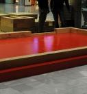 Die erste Modullage wird ausgerichtet. Foto: Craftwand