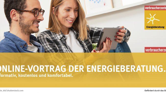Über Onlinevorträge können Eigentümer, Bauherren und Mieter ihr Wissen erweitern. Gefördert durch das BMWi. Foto: cate_89/shutterstock.com