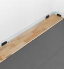Mit dem ersten Paneel in der Raumecke beginnen. Foto: Hamberger Flooring GmbH&Co.KG/HARO